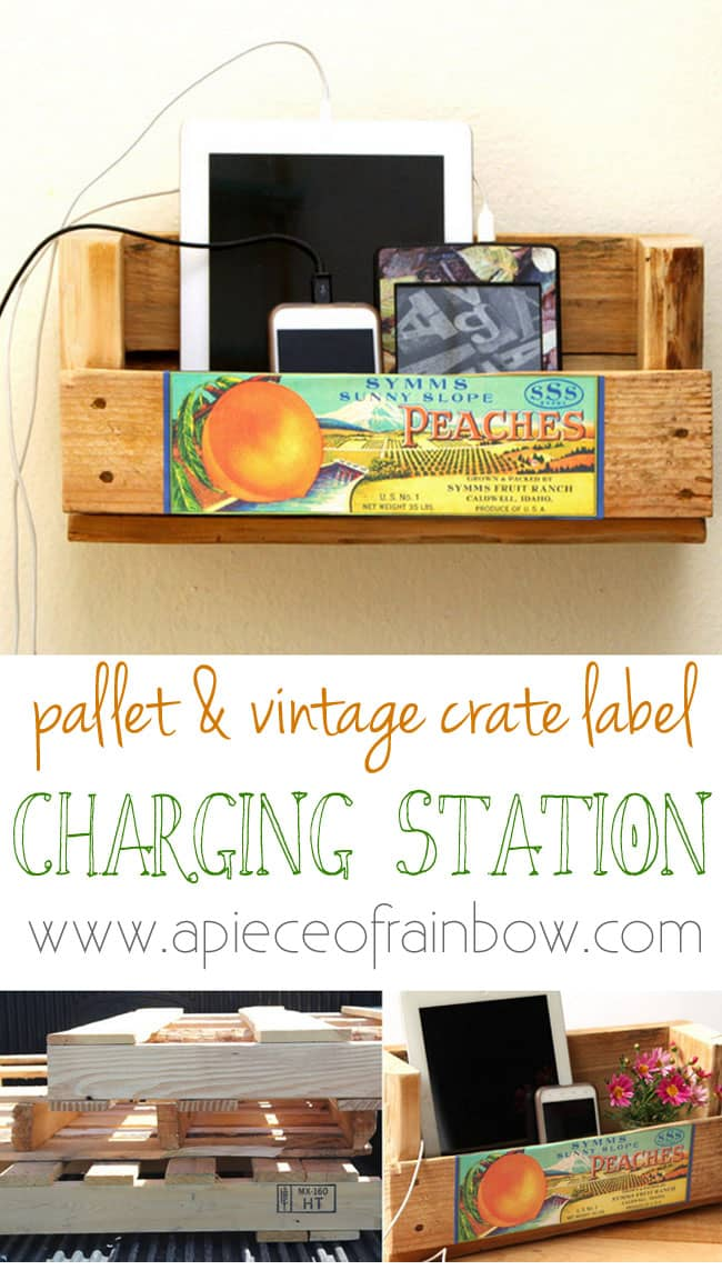 Do you have cord clutter throughout your home? Here are 25 charging stations and ideas to clean up the cord clutter.