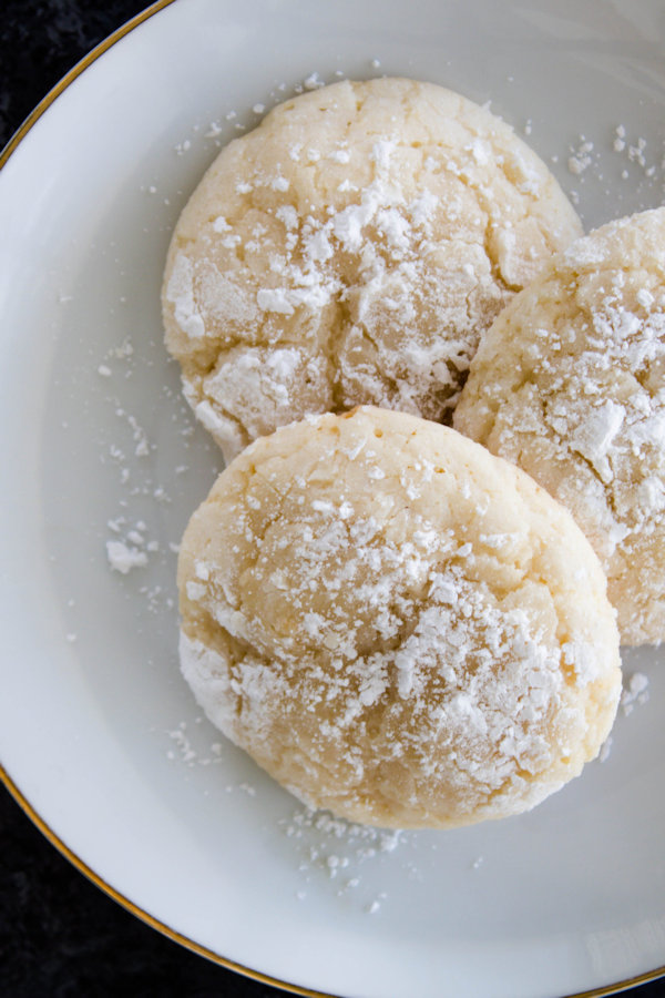 Sweet, tangy and buttery tasting cookies are the perfect tea cookie for any special occasion.