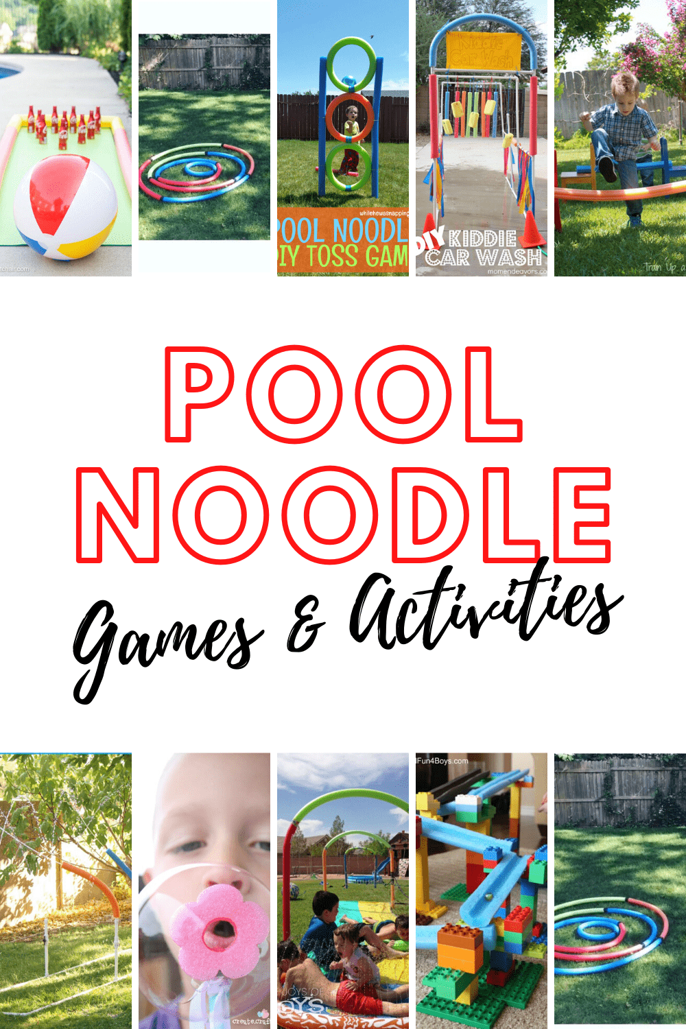 Did you know that there are tons of things you can do or make with pool noodles? If you love to DIY, try one of these awesome things to do with pool noodles this summer.