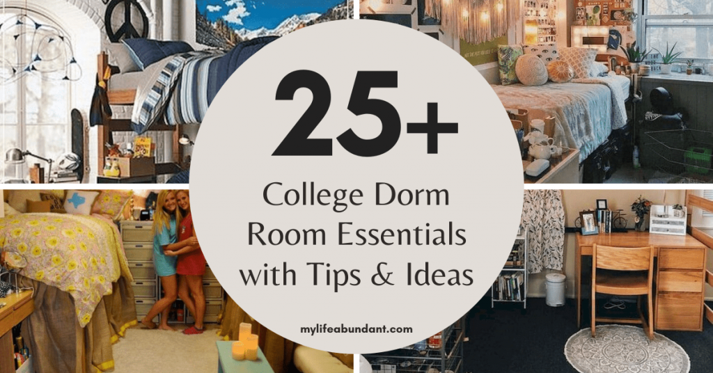 College dorm room essentials are a must for any student. Here are a few great ideas to choose from for your college-bound student.
