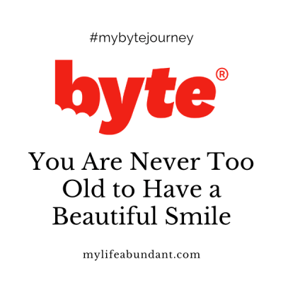Are you not pleased with your smile? Think you are too old to have a beautiful smile? Follow my journey using Byte aligners at home.