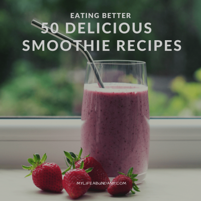 A perfect way to start off the day or for a snack is with a smoothie. Simple smoothie ingredients you can make in minutes.