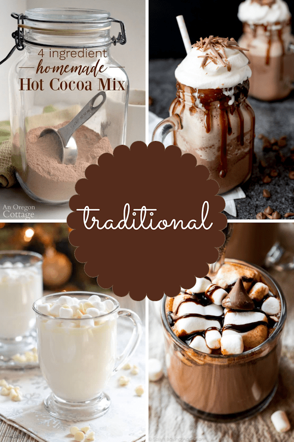 If you love drinking hot chocolate, as much as I do, then you are going to love all these different styles and flavors of hot chocolate recipes to enjoy during the winter.