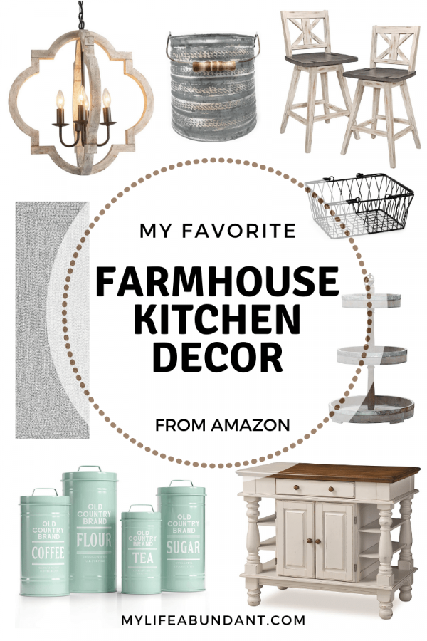 Looking for ideas for your farmhouse kitchen? Check out my list of country farmhouse rustic decor ideas.